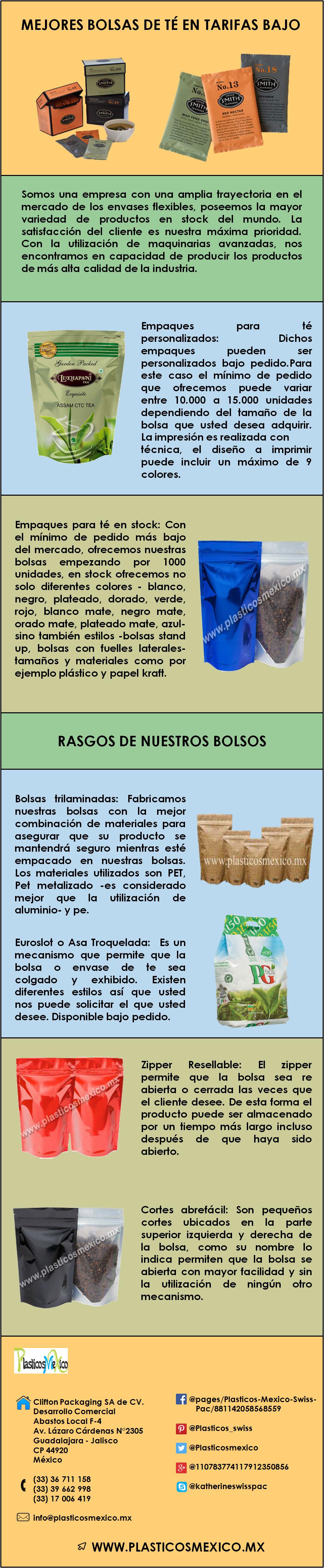 Bolsas para Té - Bolsas de té de calidad